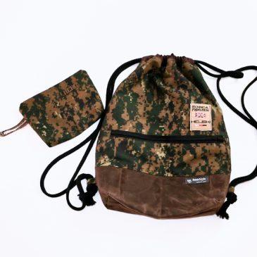 Turnbeutel Camouflage